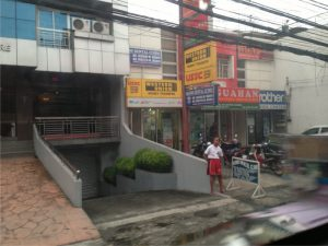 Angeles city in the Philippines